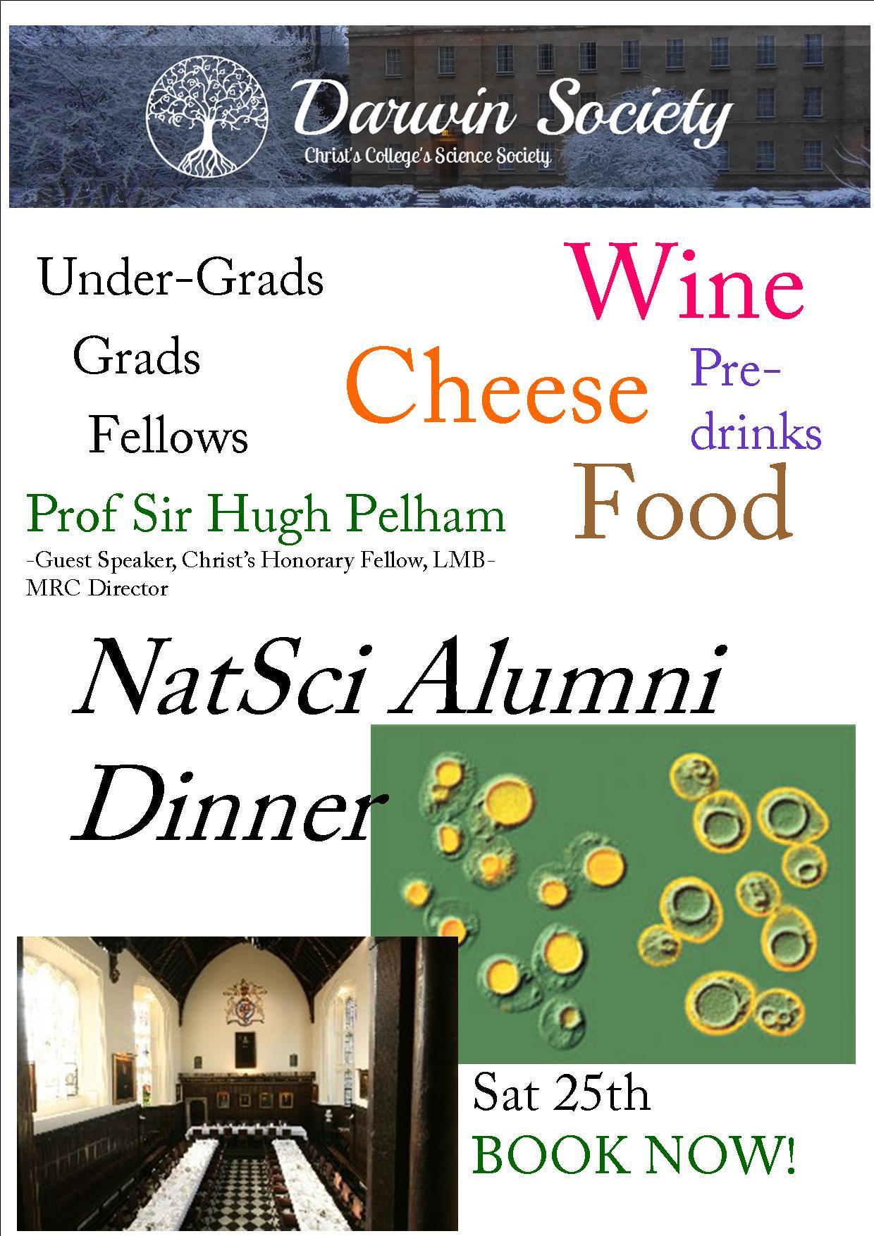 darwin alumni dinner