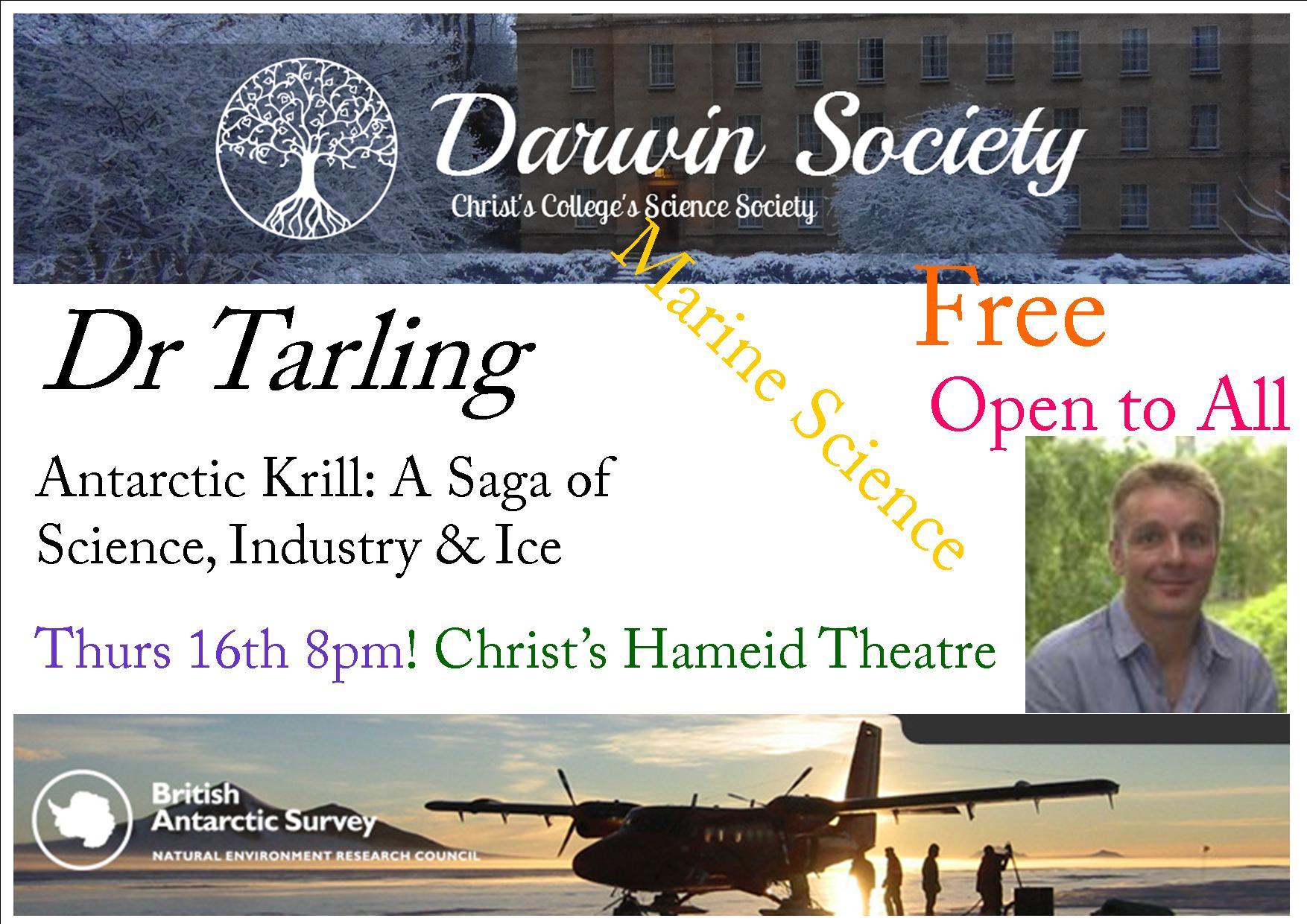 darwin arctic talk